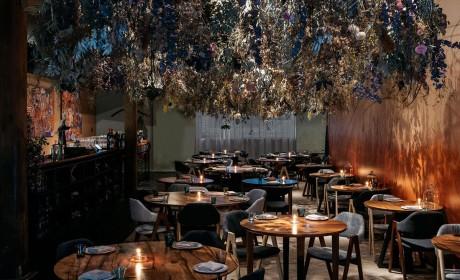 把位于萨里山下的自然景观移到餐厅快闪店里也就Orana有这想法