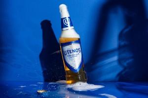 立陶宛第二大啤酒品牌Utenos啤酒包装设计,全新的外观视觉