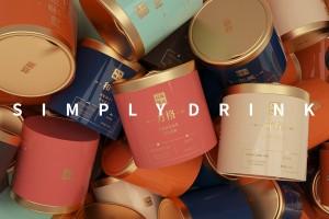 品牌推广的灵感来源十分有质感的普洱茶包装设计