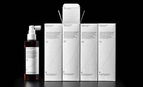 Physis Laboratory男士护发液产品包装设计,一个全新的男士产品形象