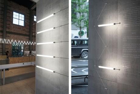 """杭州这个展览策划把""""马扎""""照明系统进行了突破和扩展,变换特性更多了"""