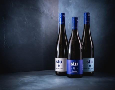 Stü葡萄酒包装设计没有多余的装饰经典而永恒