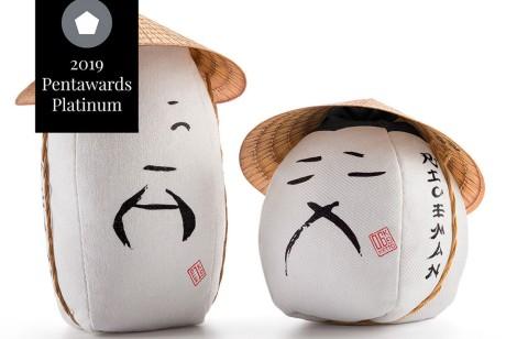 RICEMAN大米包装设计有趣的将产品人格化获Pentawards铂金奖