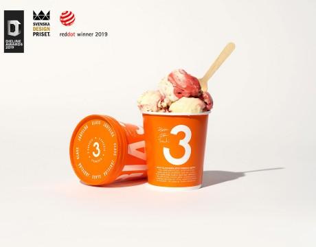 3 KAVERIA冰淇淋包装设计及品牌识别设计