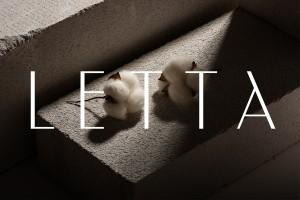 Letta高级服装品牌识别设计,我们对艺术敏感性和人类经验的热爱塑造了我们专注的视觉语言