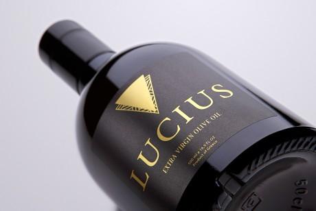 LUCIUS品牌特级初榨橄榄油包装设计