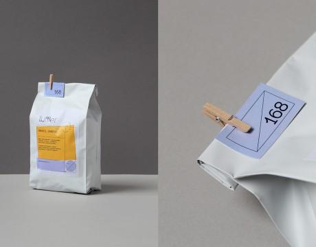 25咖啡烘焙品牌旗下uffle咖啡品牌识别和包装设计