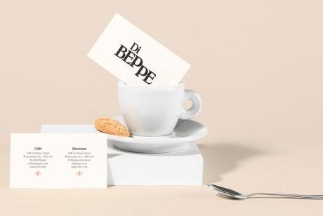 意大利餐饮品牌Di Beppe品牌识别设计