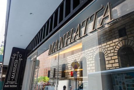 联合广场餐饮集团品牌识别,Manhatta餐饮品牌形象设计