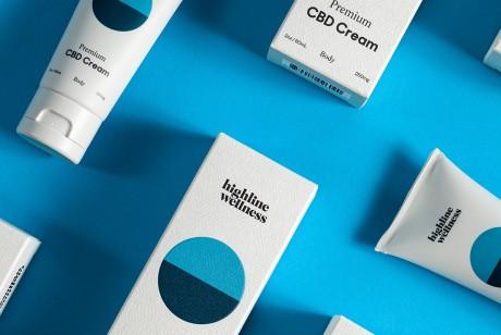 纽约Highline Wellness护肤品包装设计