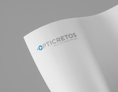 Opticretos混凝土公司品牌VI视觉设计