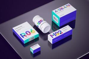 药品包装设计亦可多姿多彩,给病人一个好的心情-Smena制药公司包装设计