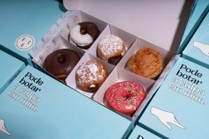 """""""罪恶的甜甜圈""""食品包装设计,来自美食的压力"""