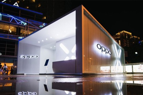 科幻风的OPPO快闪店策划再次刷新了体验感