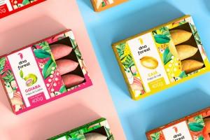 水彩风格插图包装设计,跟随巴西设计师们领略DNA Forest包装风采