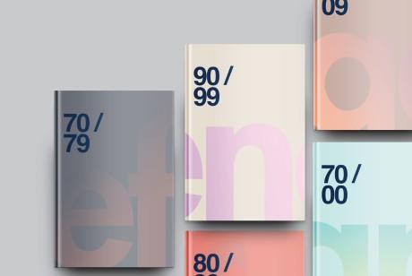 Effenaar Revisited时间轴记录海报的画册设计