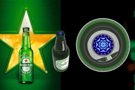 喜力啤酒的这个展览展示设计宇宙星球即视感有点强哦