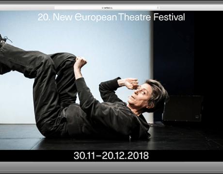 新欧洲剧院NET Festival 20周年VI设计,阔别20年的品牌视觉升级