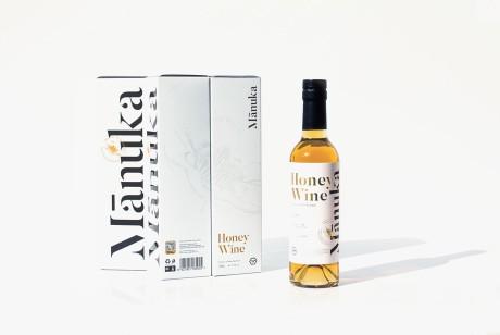 新西兰蜂蜜酒盒包装设计,以简洁的语调完成独特的设计方式