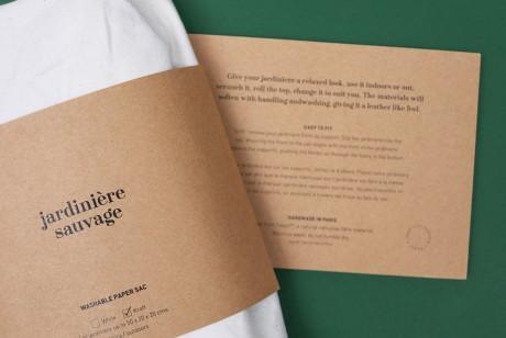 植物花卉品牌识别与包装设计,牛皮纸造型增添自然气息