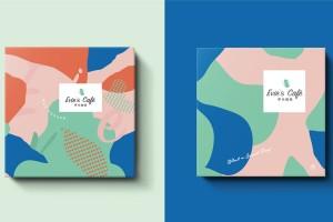 咖啡品牌包装设计,Evie's Cafe 伊米咖啡时尚视觉
