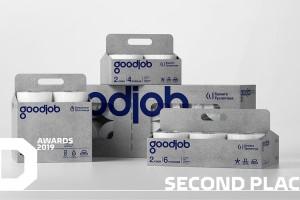 卫生纸包装设计瞄准消费者心理,GOODJOB纸包装设计