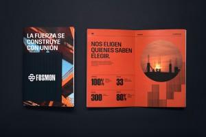建筑开发公司品牌VI设计,Fosmon它正在建设明天的实力
