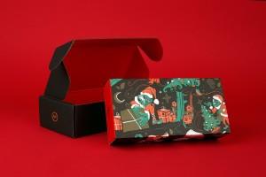 Robot Food 圣诞节食品包装设计