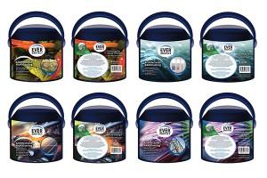 涂料包装设计公司体现绿色和自然,让产品大放异彩