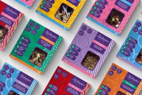 养生干果包装设计帮助产品塑造健康生活方式的视觉冲击