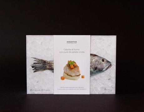一系列优质冷冻美食产品包装设计