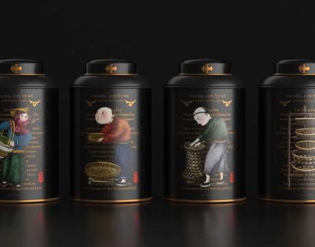 创意茶包装设计中西合璧的奢华感