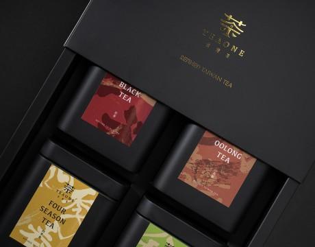 TEAONE台湾茶包装视觉识别系统设计,用台湾的茶说台湾的故事以台湾茶待友