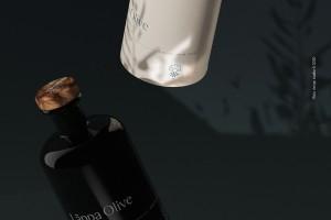 有机橄榄油系列包装设计,主视觉来源罗马故事