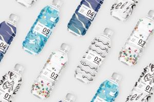 FUN x WAVE主题矿泉水瓶包装设计,诠释所产生的世界观