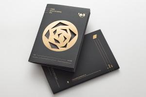 乾泰恒茶叶公司介绍手册设计,赋予几何美学思维