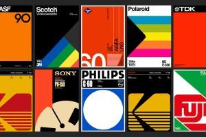 十款出色的简洁复古色块海报设计欣赏