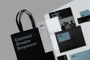品牌重塑视觉策略,摩城唱片VIS品牌识别设计
