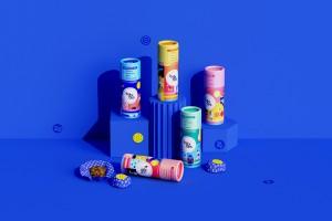 好玩新鲜多彩的零食包装设计,激活每一个使用场景