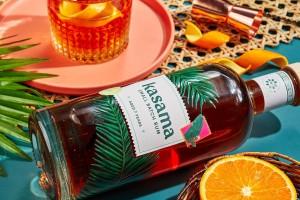 好玩大胆的酒包装设计,Kasama朗姆酒创意指导与制作