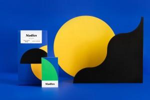 松脆零食包装设计Madies强大的创作和发明概念