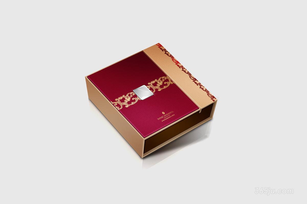 30款精美华丽的月饼包装设计精致的生活美学-第33张