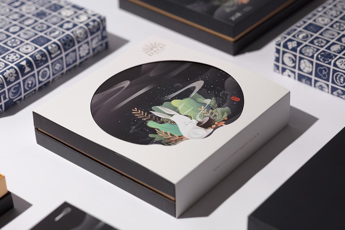 30款精美华丽的月饼包装设计精致的生活美学-第18张