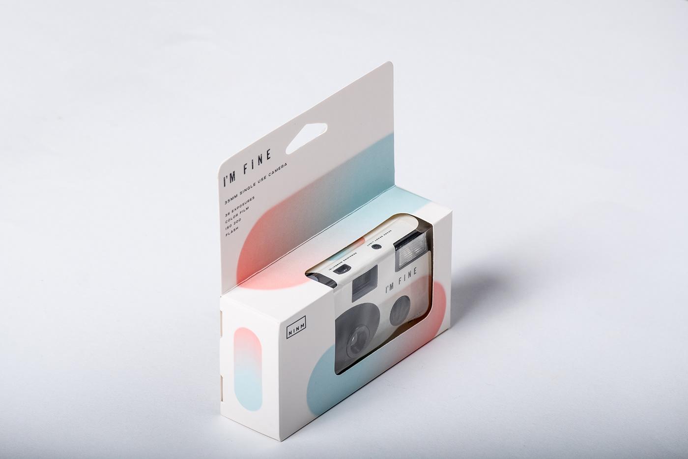相机包装设计