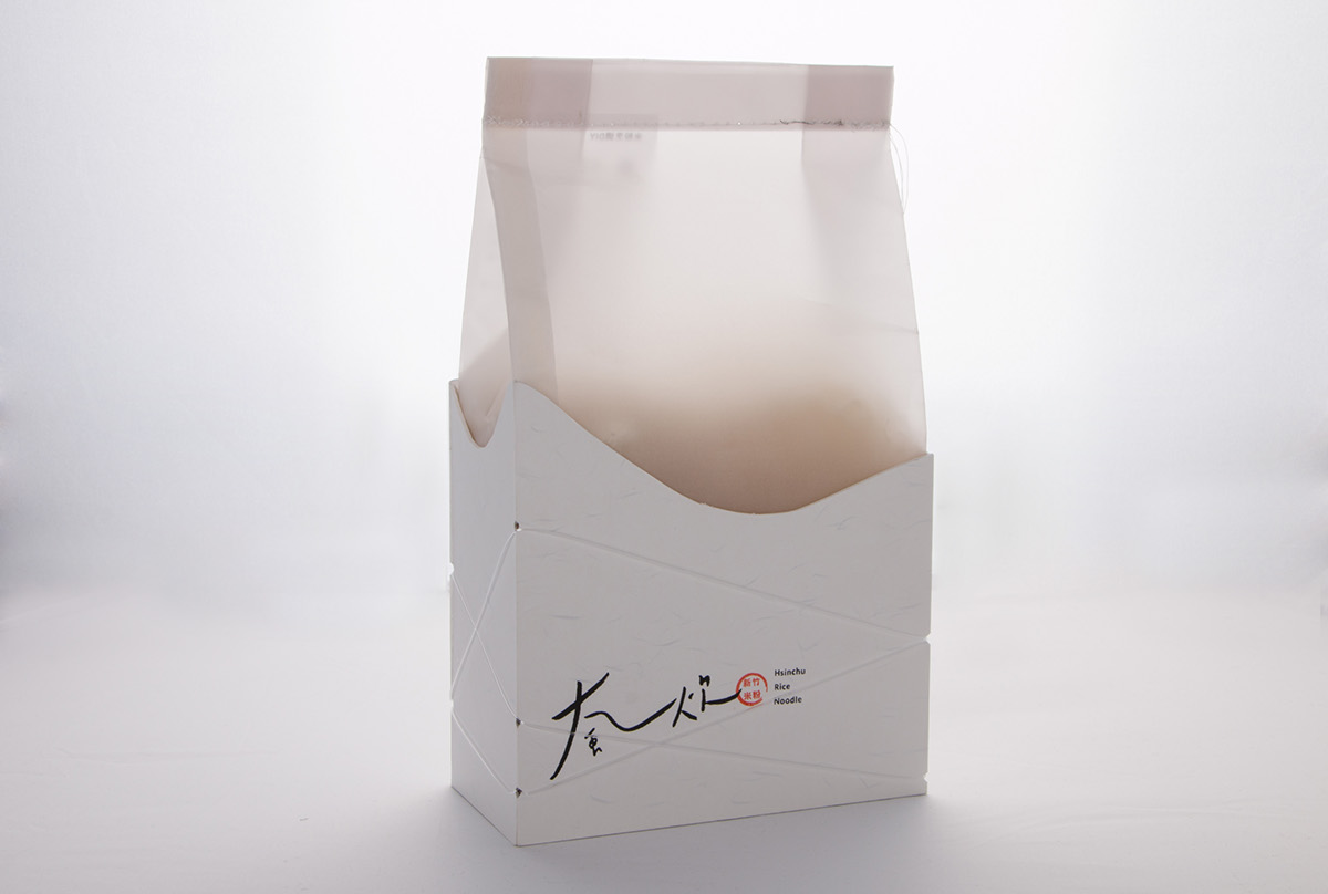 新竹米粉包装设计